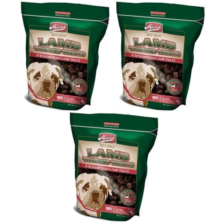 3 Pack Merrick Training Dog Treat Lamb 5 oz * You can get