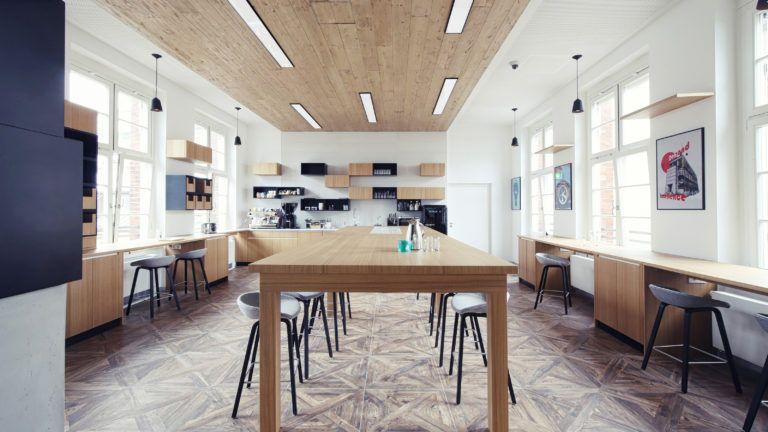 Nouveaux bureaux de linkedin inspirés du design sensoriel bureaux