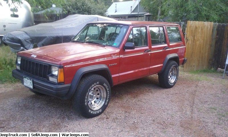 92 Jeep Cherokee Sport 4