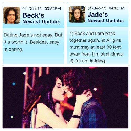 Varför Beck dating Jade personal som dejtar på arbets platsen