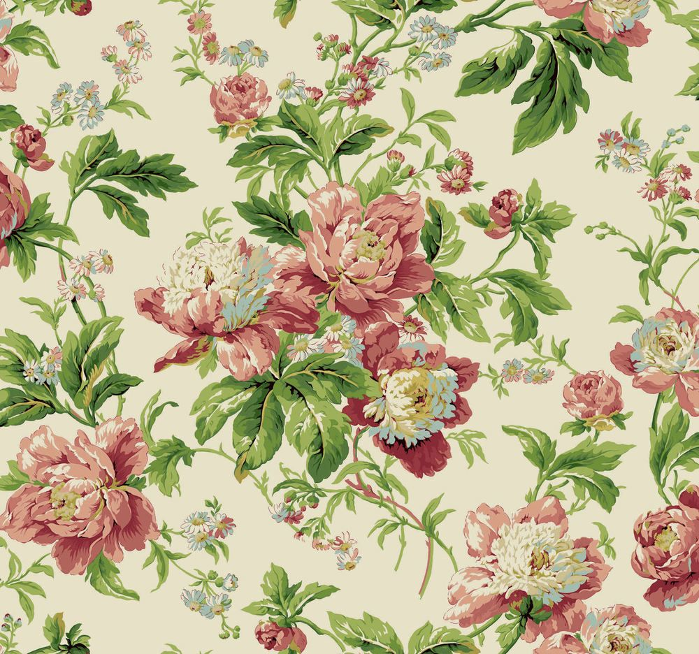 Waverly Forever Yours / Antique Berkshire Fabric & Wallpaper