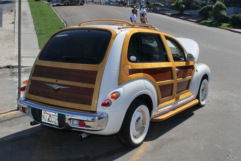 2002 Chrysler Pt Woody Custom White Rvr Woody Car Vehicles