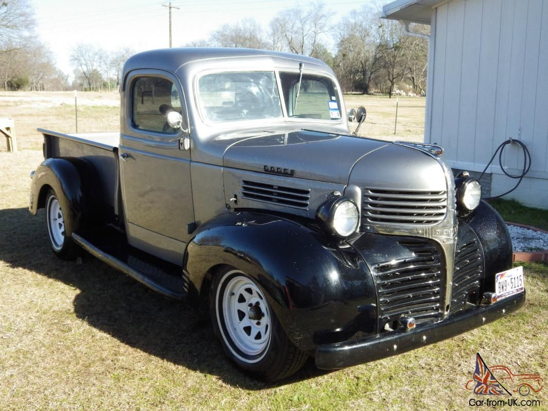 1940 Dodge Pk 1 2 Ton Truck With Images Classic Cars Trucks