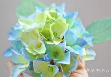 How to make hydrangea paper flower from printer paper so simple how to make hydrangea paper flower from printer paper free template mightylinksfo
