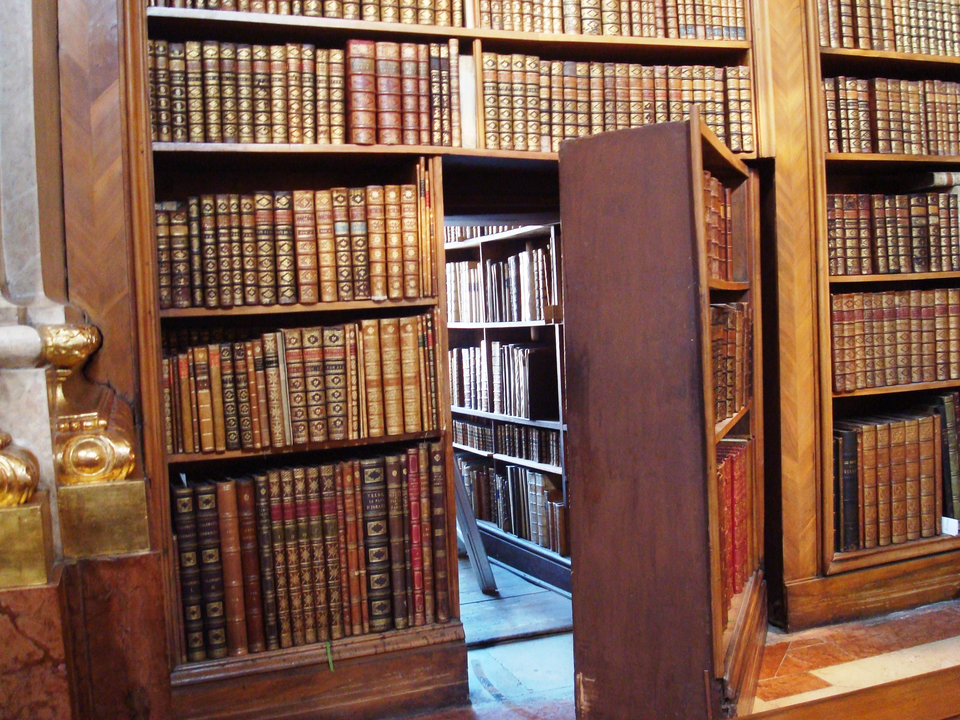 bookcases are used in private homes public and university