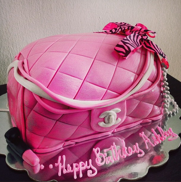 Purse Birthday Cake Birthday Cakes Pinterest Birthday Cakes