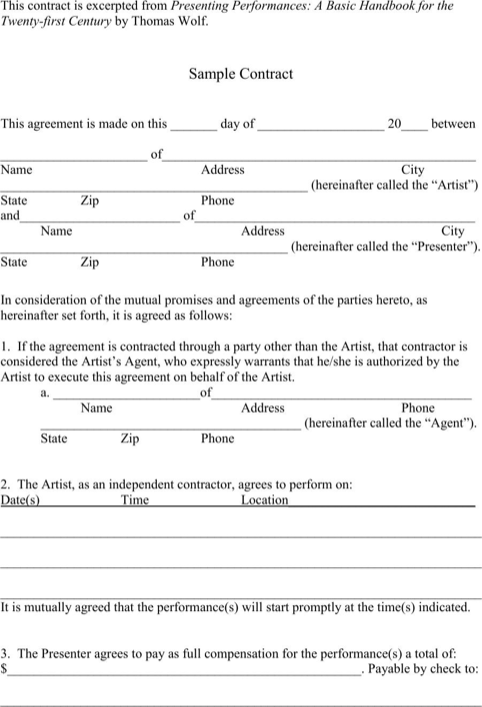 Simple Contract Template | Templates&Forms | Pinterest