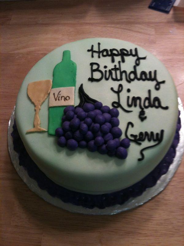 wine and grapes cake Cake Diva cakes Pinterest Wine Cake and