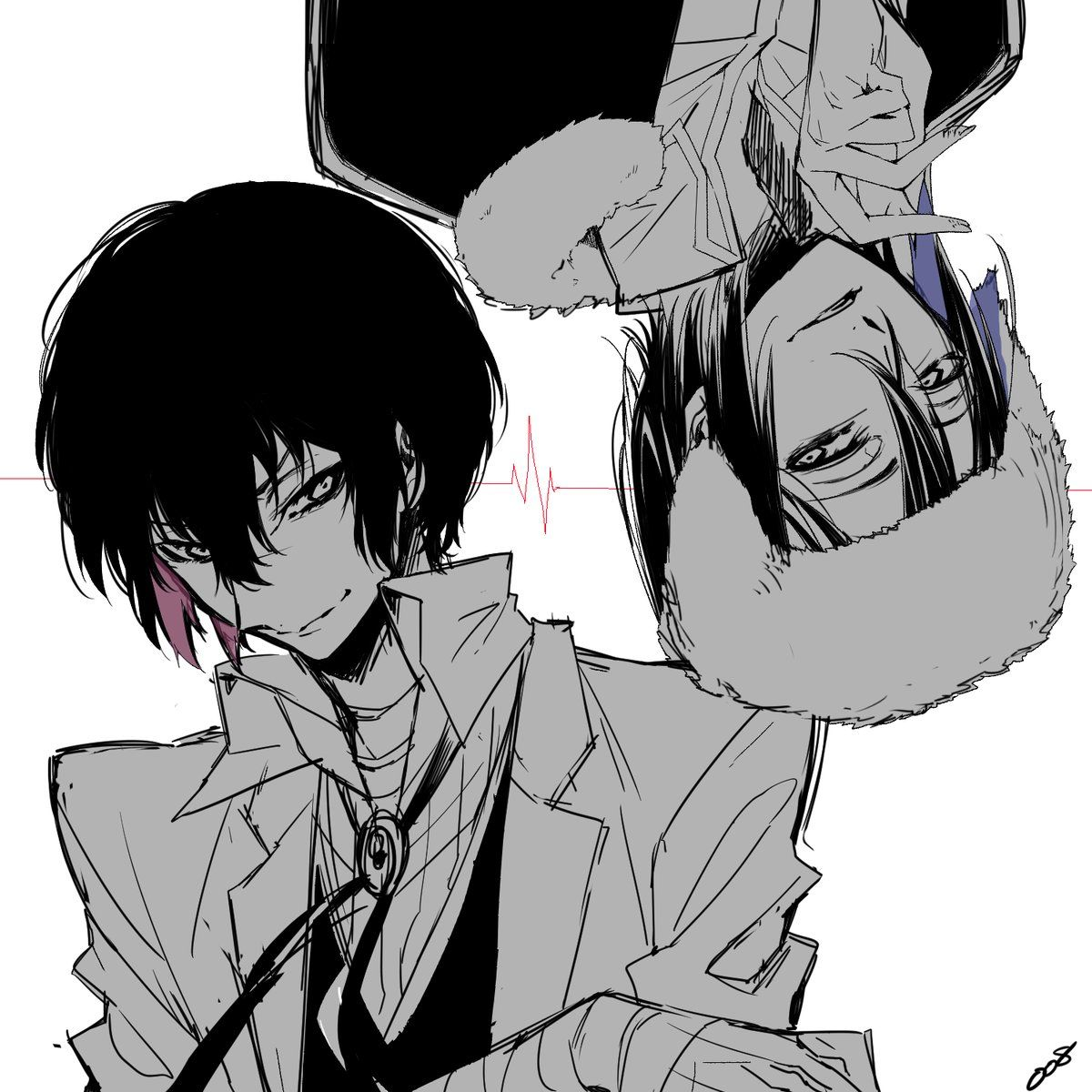 I swear, Dazai can be shipped with ANYBODY! He's been