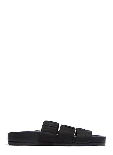three strap sandals - Black Rick Owens z3FJPBy
