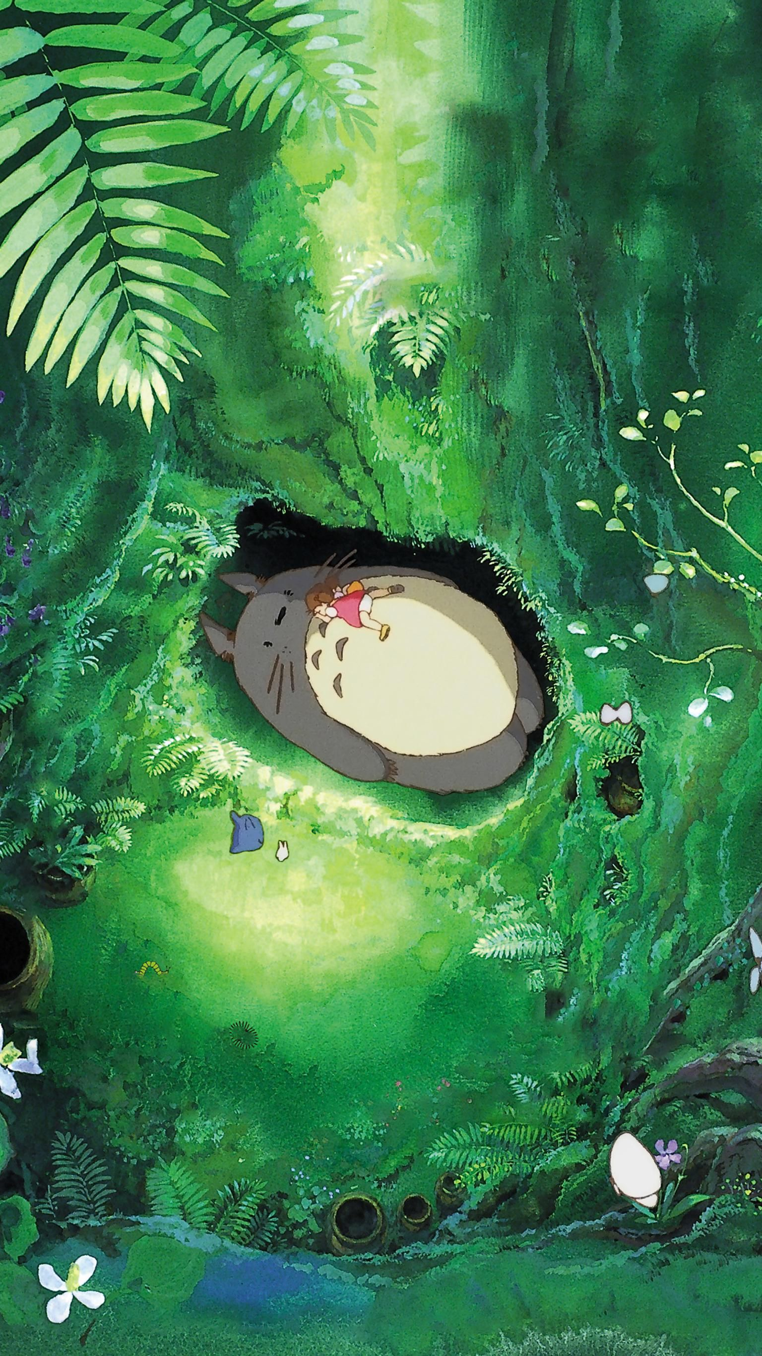 My Neighbor Totoro (1988) Phone Wallpaper   Moviemania