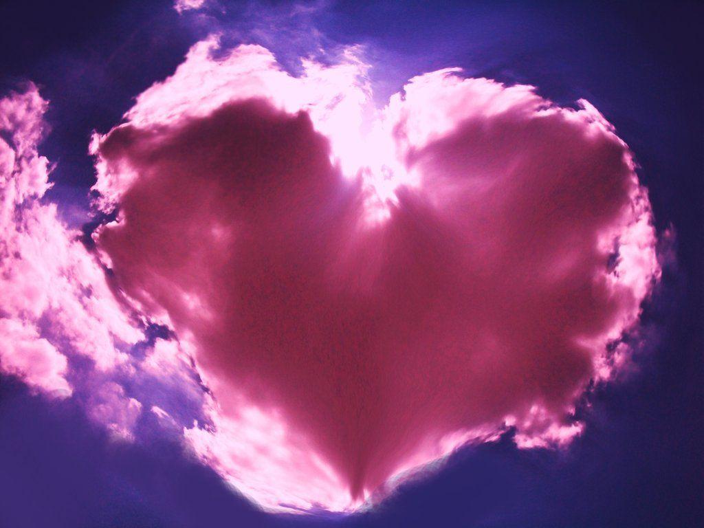 heart shapes in nature | heart-shaped cloud.darxen on deviantart