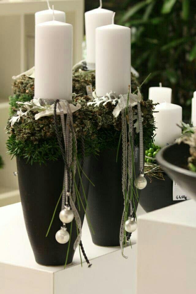 🦌 Chandelles de noël 🎅 Inspiration de décorations et d\'aménagement ...