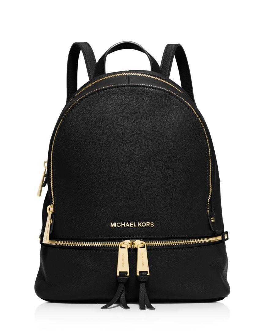 1d297dacc9 MICHAEL Michael Kors Small Rhea Zip Backpack