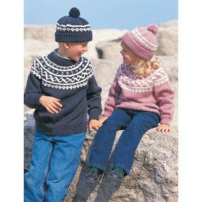 Free Easy Child's Sweater Knit Pattern | free knitting patterns ...