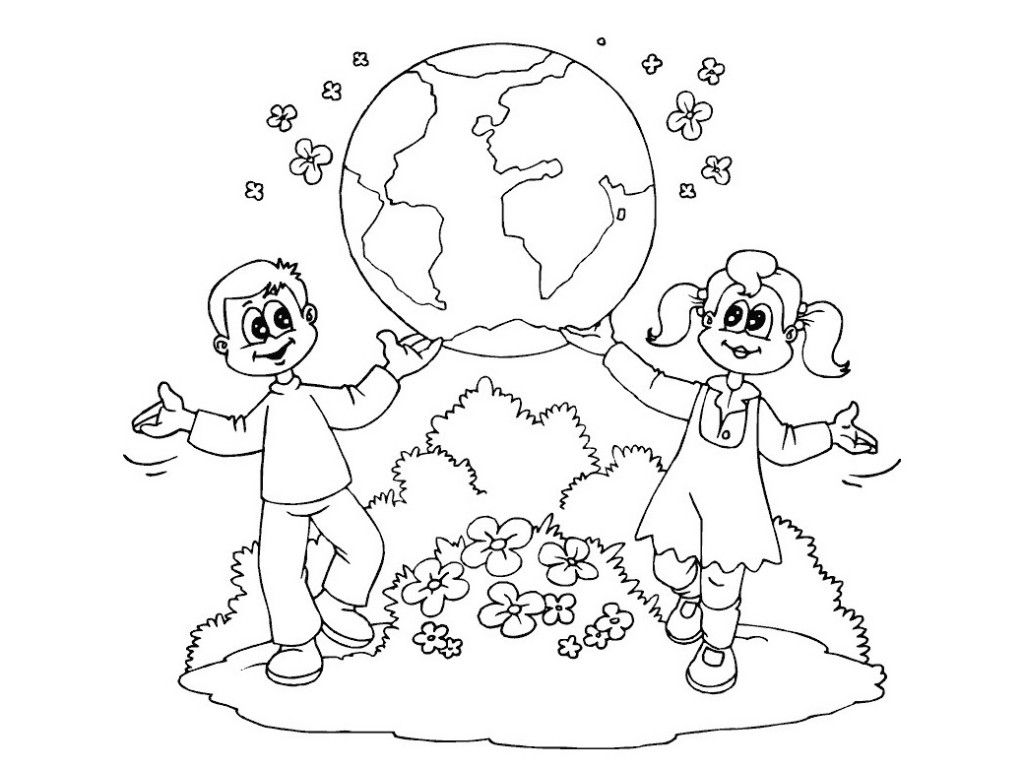 World day earth day printable coloring pages for preschool earth world day earth day printable coloring pages for robcynllc Images