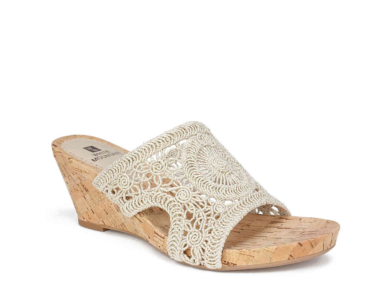 White Mountain Amherst Wedge Sandal