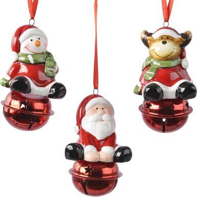 Ozdoba Zawieszana Z Dzwoneczkiem 8 Cm 1 Szt Plastikowa Mix Bombki I Ozdoby Choinkowe W Atrakcyjnej Cen Christmas Ornaments Novelty Christmas Holiday Decor