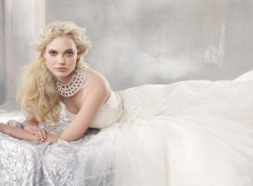 Alvina Valenta - Strapless wedding dress