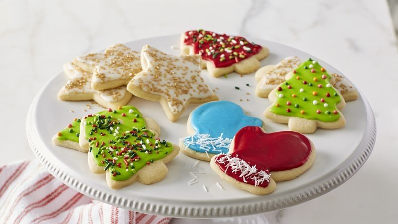 Classic Christmas Sugar Cookie Cutouts Recipe Christmas sugar