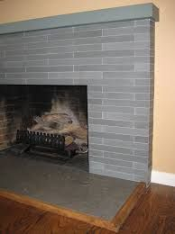 porcelain tile fireplace hearth
