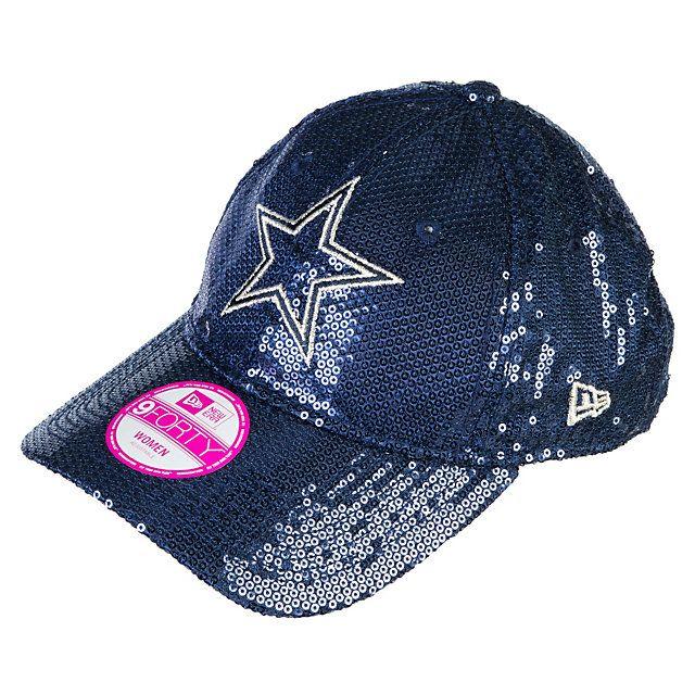 eecf541919f54 Dallas Cowboys PINK New Era Sequin Hat GOTTA GET