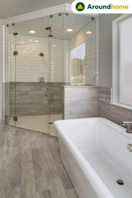 Traum Badezimmer Zu Top Preisen Aroundhome In 2020 Beautiful Bathroom Designs Interior Design Bedroom Bathroom Design