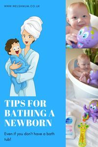 Baby Bath Time! | Welsh Mum of One