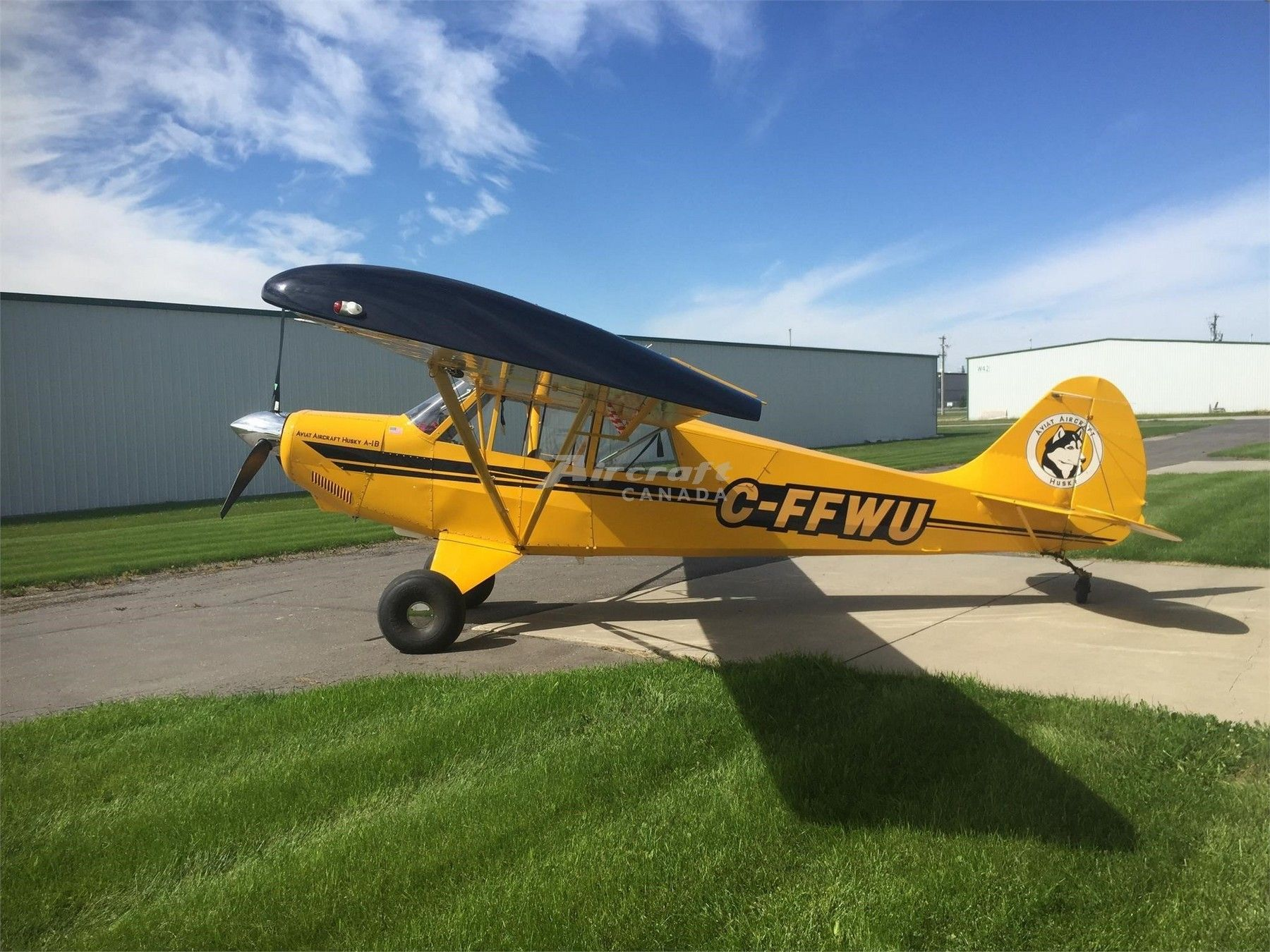 Bush Plane For Sale >> 1999 Aviat Husky A 1b For Sale In Calgary Ab Canada Www