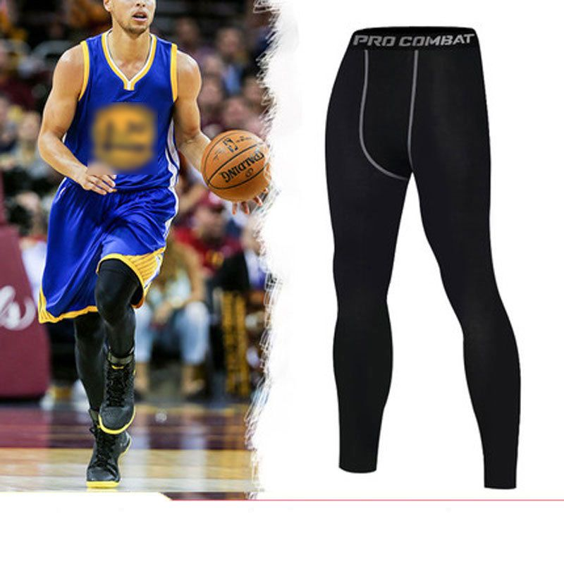 Acheter Basket Ball De Compression Sport En Cours Collants Hommes Jogging Leggings Fitness Gy Basketball Compression Pants Jogging Leggings Mens Running Tights