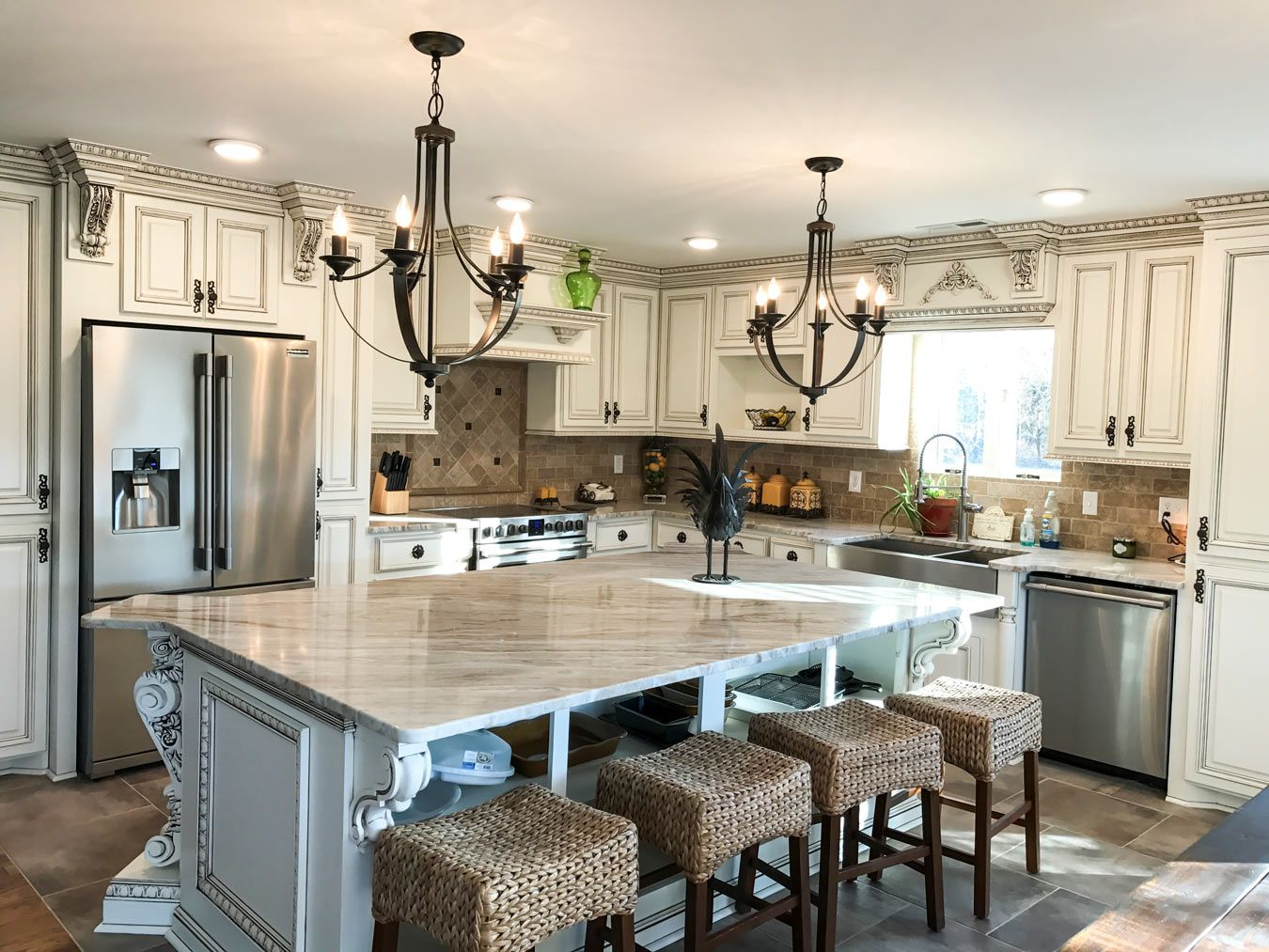 Kitchen Corbels Great For Islands And Cabinets White Kitchen Remodeling Elegant Kitchen Design Beautiful Kitchens