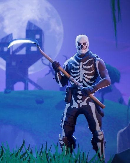 Fortnite Account With Exclusive Skull Trooper Crackshot Read Description Cartoon Sketches Gaming Wallpapers Best Gaming Wallpapers