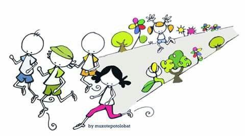 Correr,Sonreir,avanzar