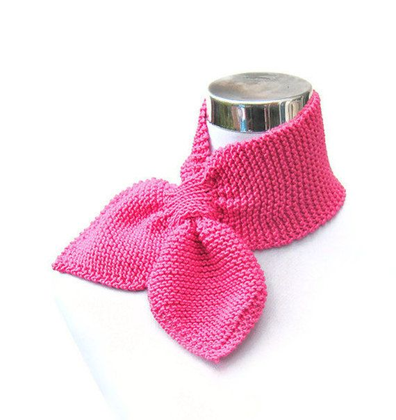 Pink Flambe scarf retro style scarf cashmere silk merino by jarg0n, £20.00