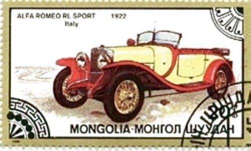 1922 Alfa Romeo Rl Sport Mongolia Philately Pinterest Mongolia