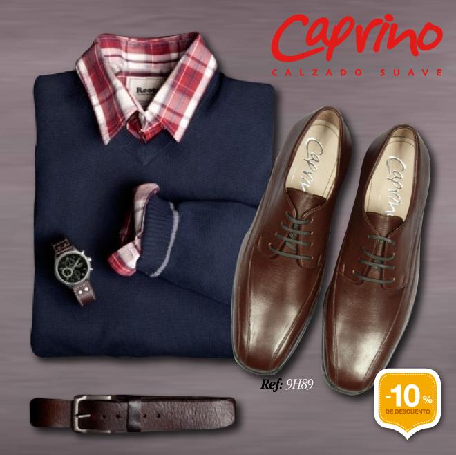 En la línea masculina Caprino también hay productos con GRANDES DESCUENTOS, encuéntralos en nuestros almacenes y Tienda Virtual.