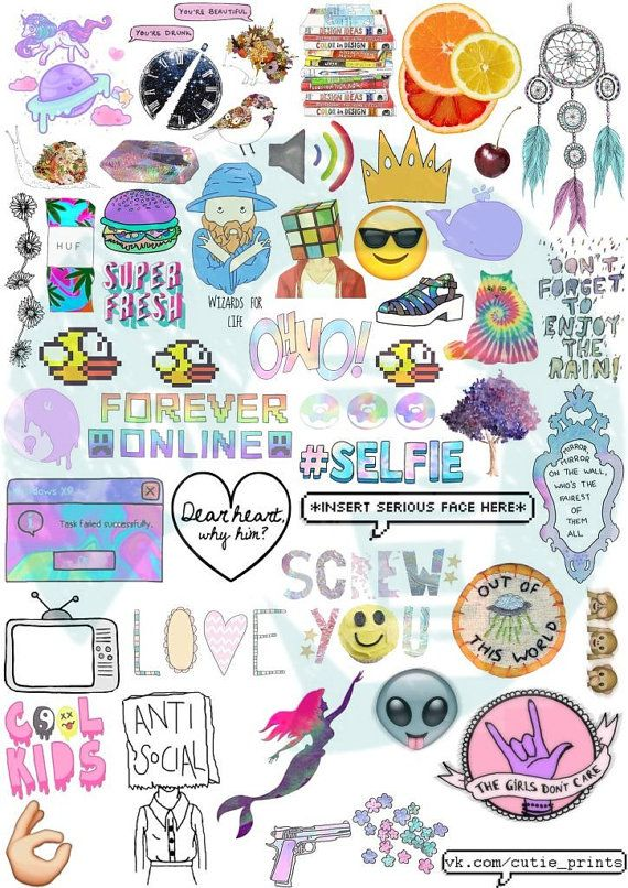 Tumblr Stickers Sticker Shop Printable Music Tv Shows Colorful Wallpaper Emoji Mockup Decals