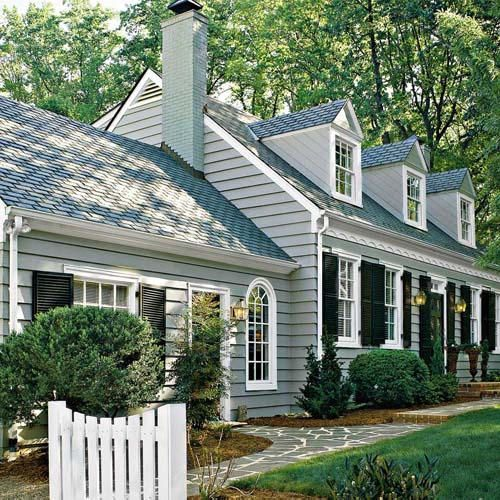 Cape Cod Style The House That A M Built Cape Cod Style House Cape Cod Exterior House Paint Exterior