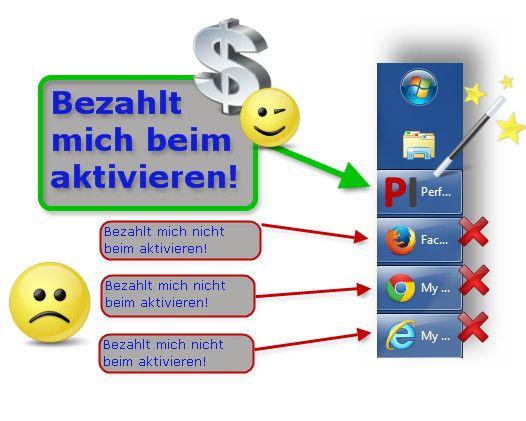 !!!Kein Smartphone erforderlich!!! http://more.sh/perfectAPP So funktioniert es: 1. Starte Deinen Internetbrowser... und Deine Cashuhr läuft! 2. Erzähle anderen (weltweit!!!) von dieser einmaligen Chance. 3. Andere starten Ihren Browser...und DEINE Cashuhr läuft!!!!!! GARANTIERT für alle: Kostenlos - Nicht Einkaufen - Nichts Verkaufen!  Deutsche Info: http://cashbrowser.jimdo.com/