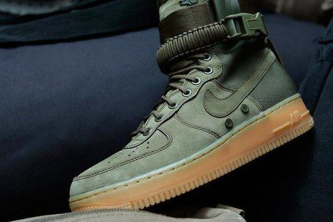san francisco 923ef 3e579 Nike Special Forces Air Force 1 OD Green  AirForce1-100  -  78.98     i  like running   Scoop.it