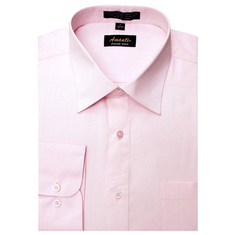 Amanti Men S Color Dress Shirt Select Your Favorite Color Men S