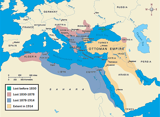 B4 WWI THE NEAR EAST REFERRED TO THE BALKANS AND THE OTTOMAN