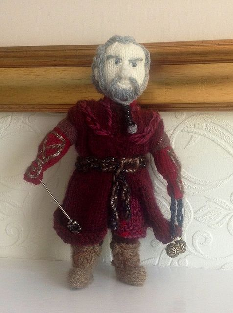 Dori - made by the Knitting Witch, read/see more: http://knithacker.com/?p=9236 #TheHobbit -- Follow her on Twitter @KnittingWitchUK