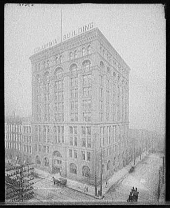 Columbia Building Louisville Ky 1890 The Columbia Building Was