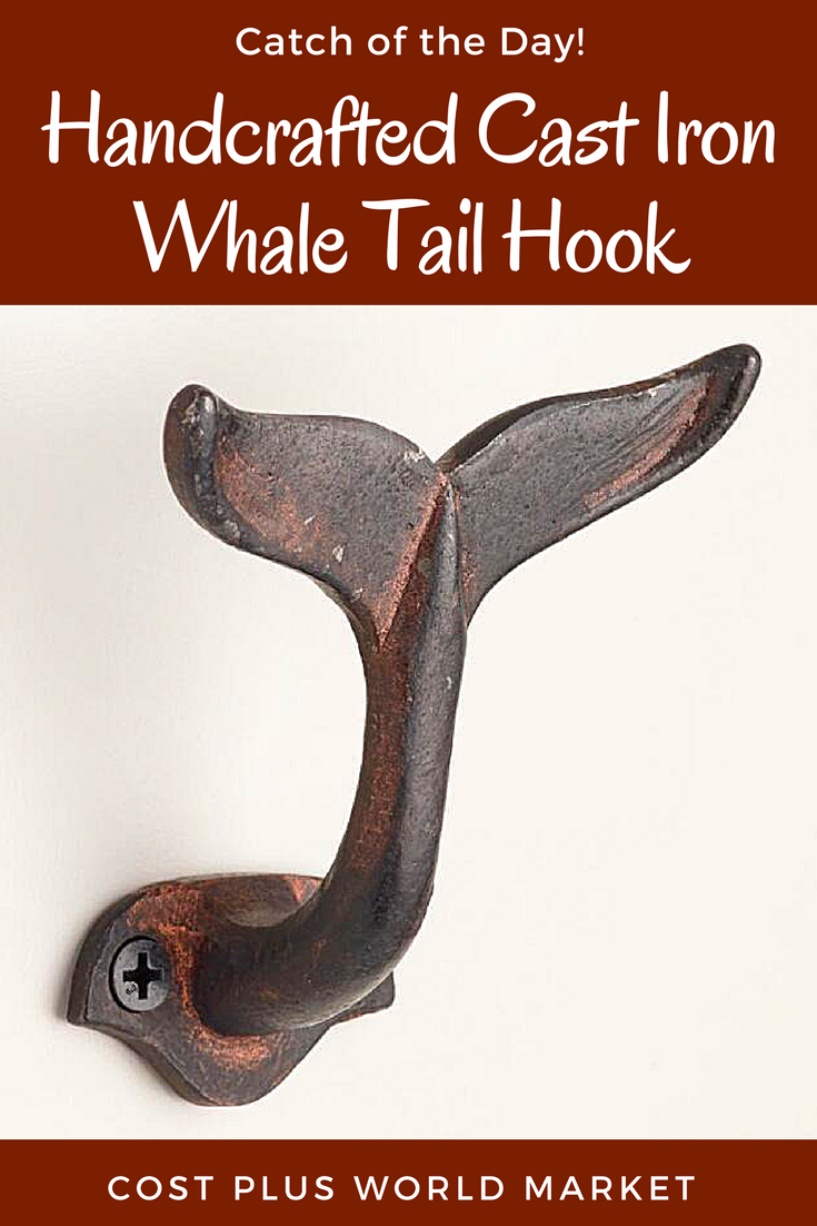 Marvelous Hang Your Hat (or Coat, Or Towel) In Ocean Inspired Style With Our Black  Whale Tail Shaped Wall Hook, Hand Cast By Skilled Artisans In India.