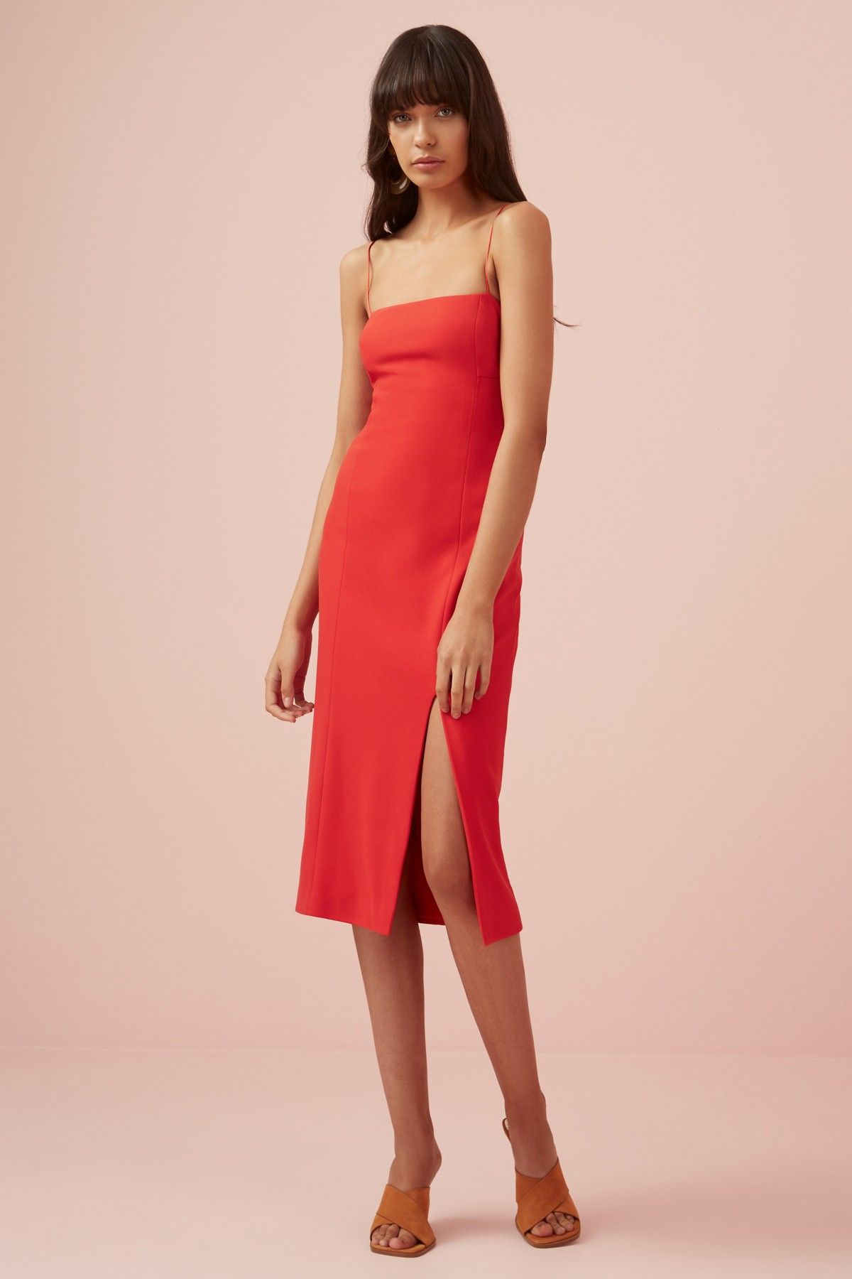 Magdalena Dress Red Finders Keepers Bnkr Women Dress Online Red Dress Dresses