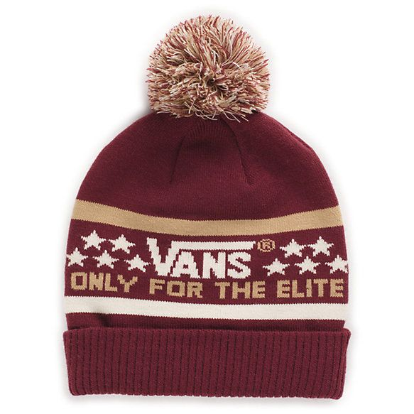 9e0ea043 Vans Elite Beanie - Wine | Menswear. | Vans girls, Vans, Clothes