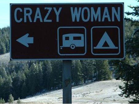 Is this woman in a tent or in an RV?