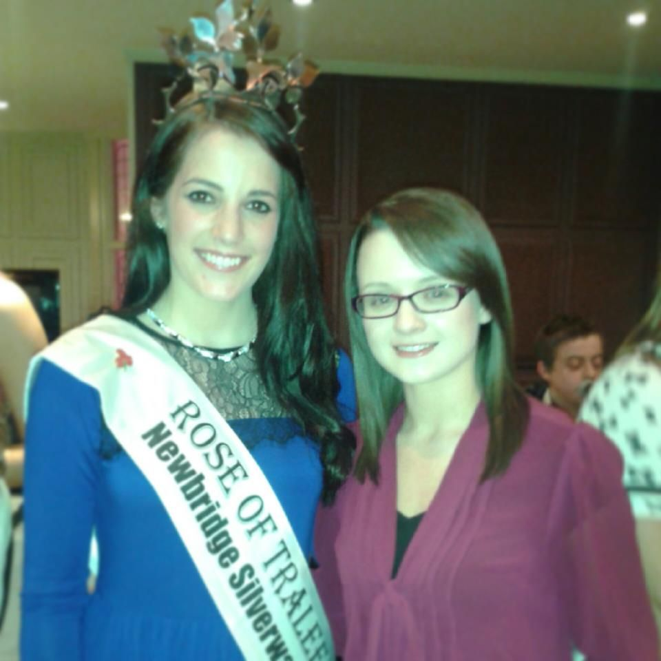 The 2012 Rose Of Tralee Nicola Mcevoy And Me We Have A Rose Of Tralee Blusher Blusher Tralee Newbridge
