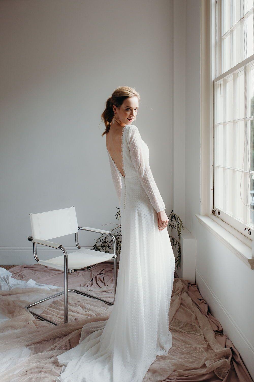 Daisy Brides By Katie Yeung Bluemink Polka Dot Wedding Dress